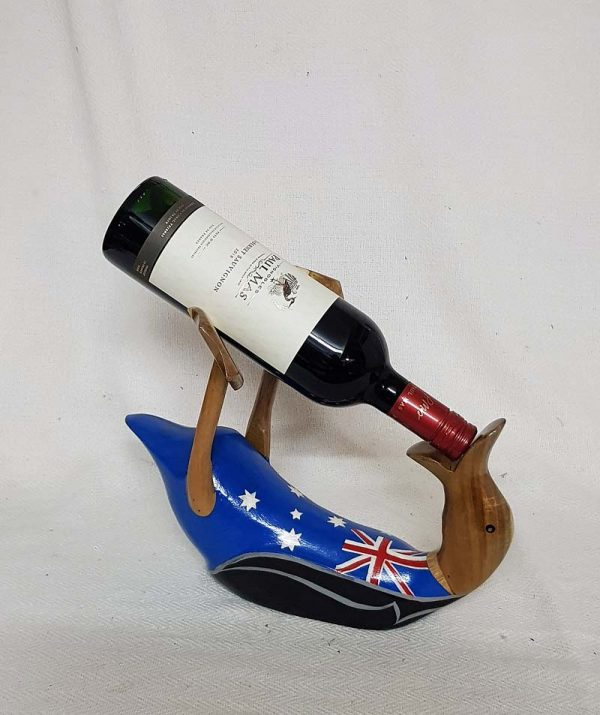 Wine Duck Holder with Cabernet Sauvignon