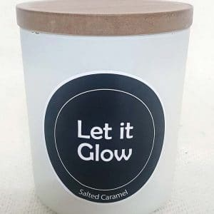 Let if Glow Large Candle