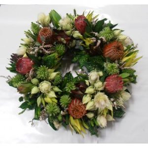 Seasonal Native Wreath