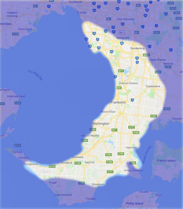 Service Area Map - 2